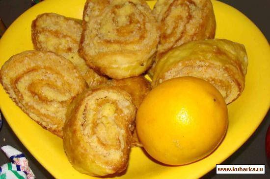 Рецепт Кятя со сладкой начинкой