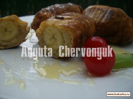 Рецепт Бананы в плаще (Platanos en gabardina)