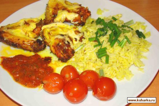 Рецепт Запеченые куриные крылышки в маринаде