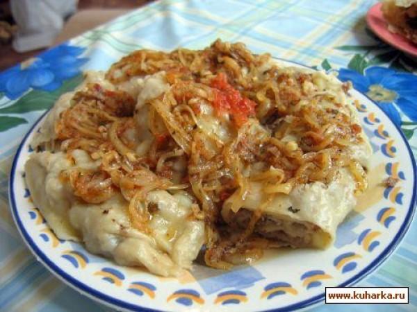 ханум с картошкой и мясом рецепт с фото