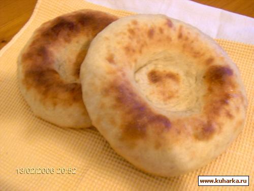 Рецепт Узбекские лепешки