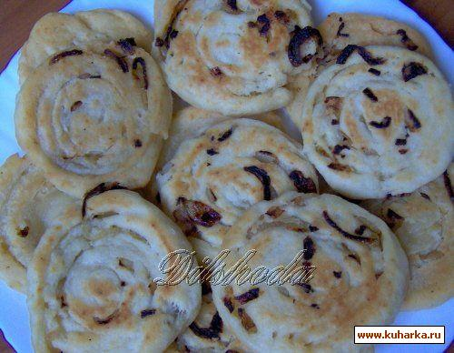 Рецепт Пёзин калама (луковые лепёшечки или пирожочки)