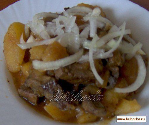 Рецепт Жигар кавоб (соус из печёнки)