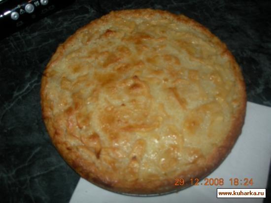 Рецепт Цветаевский яблочный пирог.