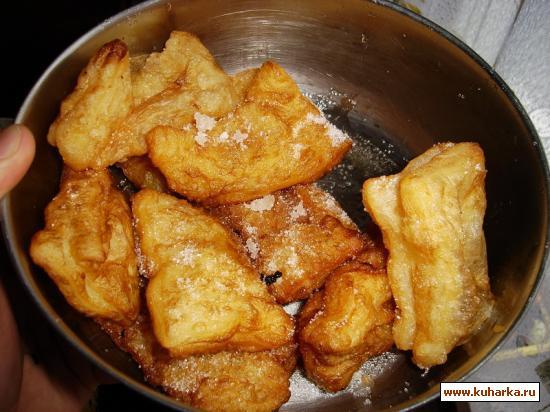 Рецепт Пирожки с джемом типа Макдональдс