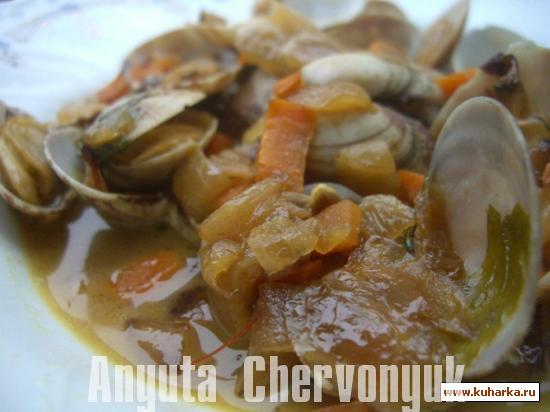 Рецепт Альмехас по-гипускуански (Almejas a la guipuzcoana)