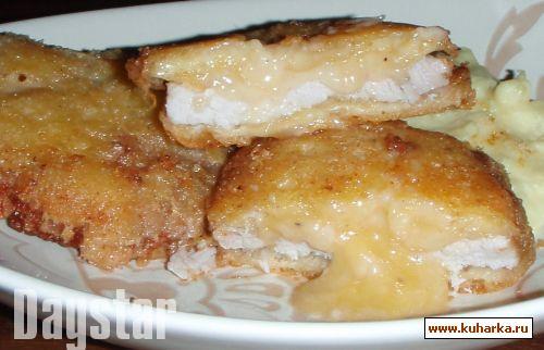 Рецепт Свинина в сырной панировке