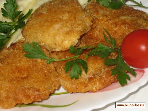 Рецепт Рыбка в пивном кляре и сырно-хлебной панировке