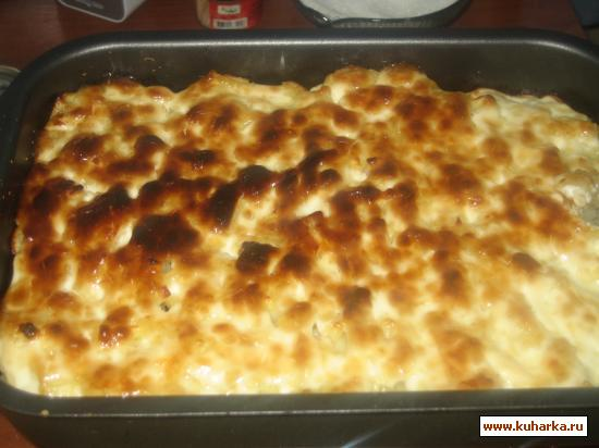 Рецепт Картомясо под шубой