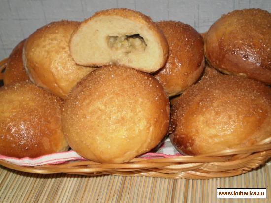 Рецепт Банановые булочки