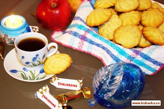 Рецепт Песочные печенья на майонезе