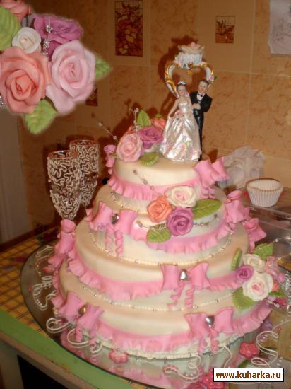 Рецепт Свадебный торт МК