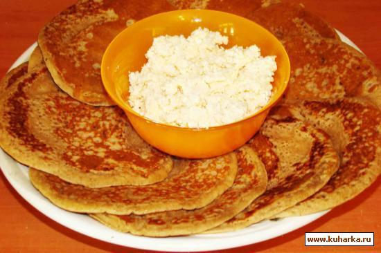 Рецепт Гречневые лепешки на соде