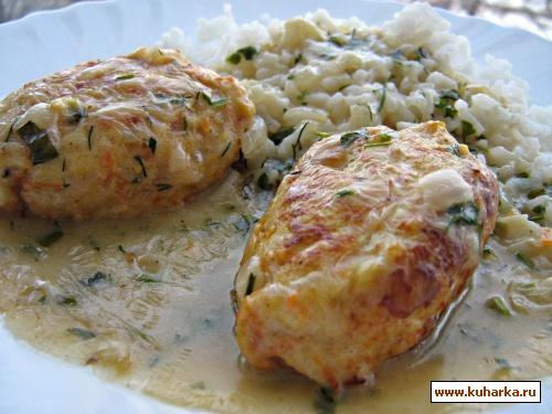 Рецепт Куриные тефтели в соусе