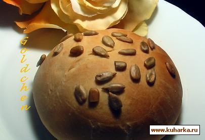 Рецепт Sonnenbluemenbroetchen/Булочки с семечками подсолнуха