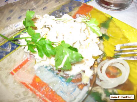 Рецепт Вариация на тему кальмаров