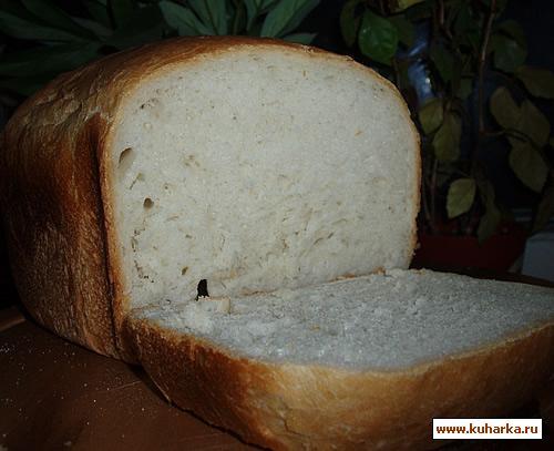 Рецепт Обычный белый хлеб