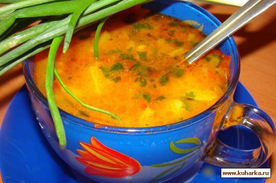 Рецепт Суп рисовый постный