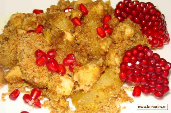 Рецепт Куриные грудки с яблоками