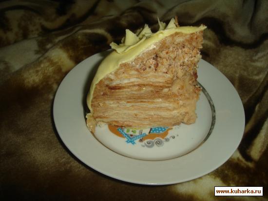 Рубленный наполеон торт рецепт с фото