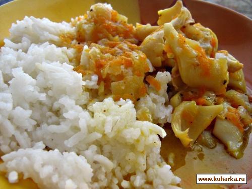 Рецепт Кальмары в маринаде