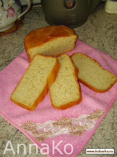Рецепт Молочно-яичный хлеб