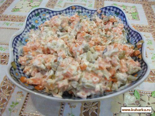 Салат еврейский с морковью рецепт