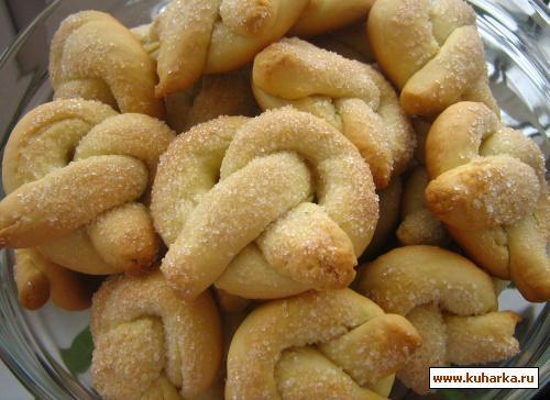 Рецепт Воздушные сахарные крендельки