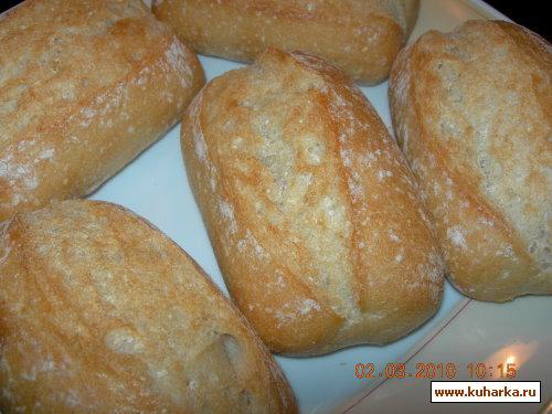 Рецепт Sonntagsbroetchen (Воскресные булочки)