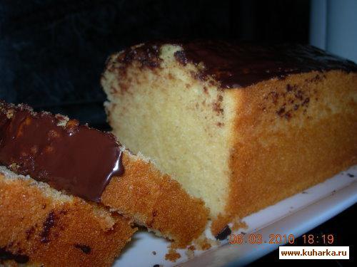 Рецепт Кекс с марципаном