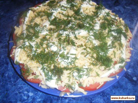Рецепт Салатик из сельди- незамысловатый,быстрый и вкусный