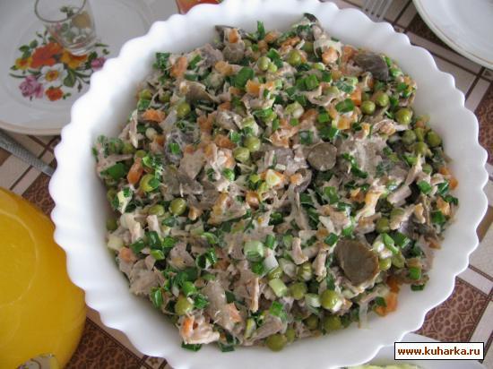 Рецепт Салат по-грузински