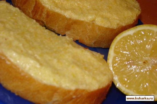 Рецепт Лимонно-медовое масло