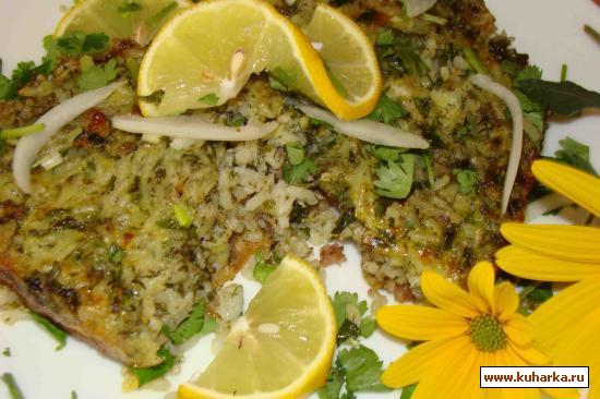 Рецепт Запеканка из курдюка, вареного риса и фарша