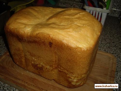 Рецепт Майонезный хлеб (для хлебопечки)
