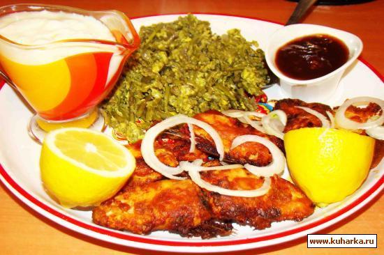 Рецепт Рыбка жареная в томатном соусе