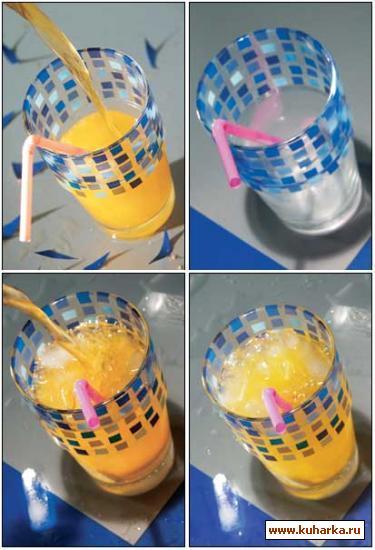 Рецепт Летний апельсиновый напиток