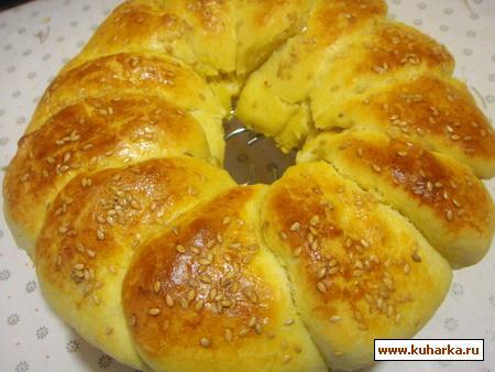Рецепт Погачице - сербский хлеб