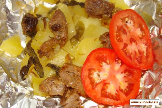 Рецепт Картошка в фольге