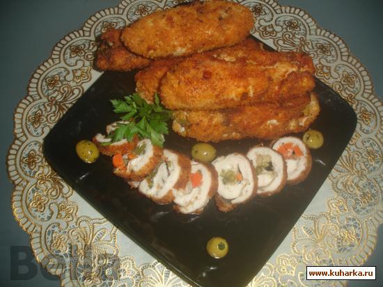 Рецепт Рулет из куриного филе