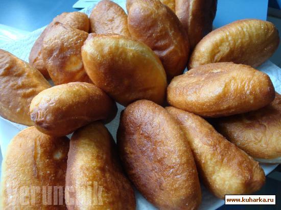 Рецепт Дрожжевое тесто на пирожки и беляши