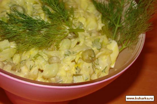 Рецепт Салат из капусты и овощей