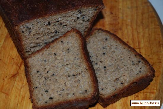 Рецепт Ржаной хлеб с черным тмином