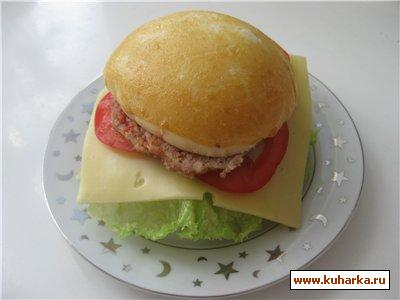 Рецепт Домашний гамбургер