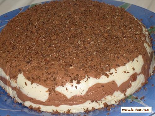 Рецепт Шоколадно-творожный десерт