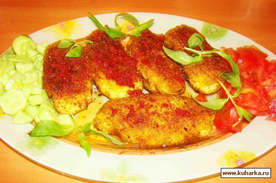 Рецепт Сосиски в картошке