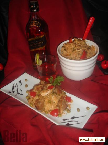 Рецепт Плов с курицей и свининой