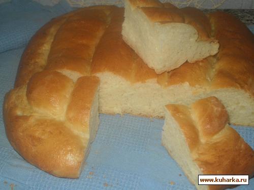 Рецепт Итальянский молочный хлеб (Pane al Latte)