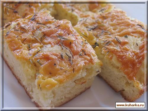 Рецепт Хлеб с сыром и чесноком