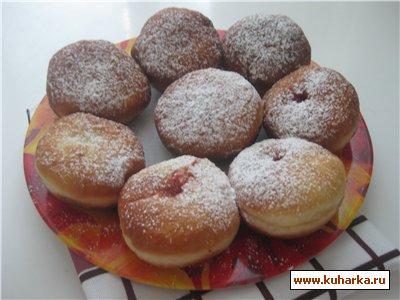 Рецепт Австрийские пончики - Крапфены